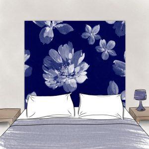 Tete de lit Pistilles pour lit 160 cm