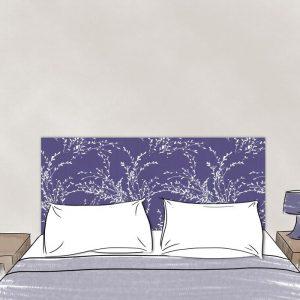 tete de lit rameaux 160*70 cm dessin